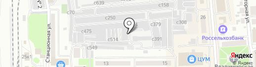 Рино на карте Искитима
