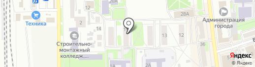 СИБИРЬ КОНТРАКТ на карте Искитима
