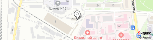 Столовая на карте Искитима