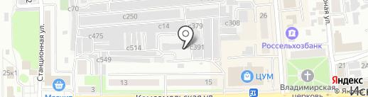 ЖЭУ Центральное на карте Искитима