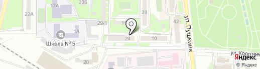 Городской информационно-технический центр на карте Искитима