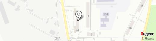 Чародейка на карте Искитима
