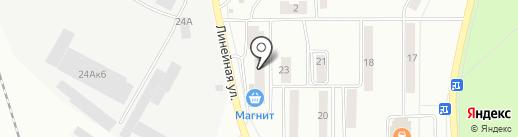 Пульс на карте Искитима