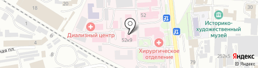 Родильный дом на карте Искитима