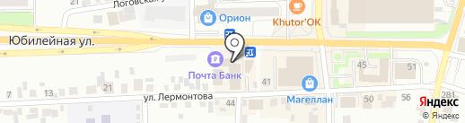 МТС на карте Искитима