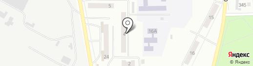 Жасмин на карте Искитима