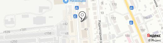 Новосибирское региональное отделение Фонда социального страхования Российской Федерации, ГУ на карте Искитима