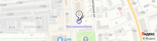 Банкомат, Россельхозбанк на карте Искитима