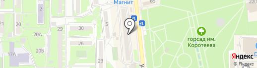 Швейная мастерская на карте Искитима