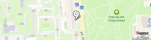 Саквояж на карте Искитима