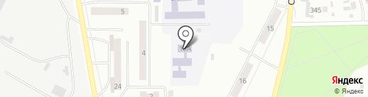 Детский сад №16, Солнышко на карте Искитима