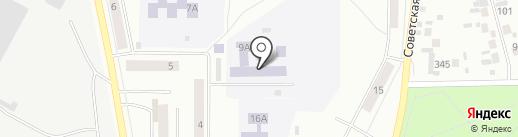 Средняя общеобразовательная школа №3 на карте Искитима