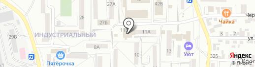 Спарта на карте Искитима