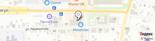 Азбука Уюта на карте Искитима