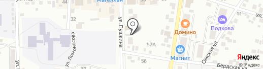 Венера на карте Искитима
