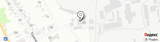 Солод на карте Искитима