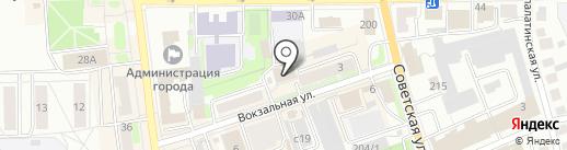 Отдел строительства и архитектуры Администрации г. Искитима на карте Искитима