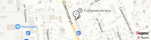 Комиссионный магазин автозапчастей на карте Искитима