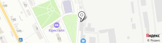 Автофуд на карте Искитима