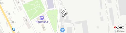 Искитимская городская котельная на карте Искитима