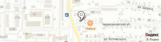 Эдельвейс на карте Искитима