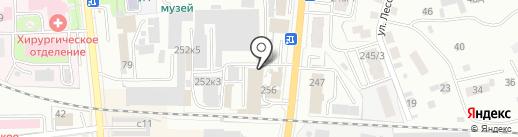 Блинная на карте Искитима