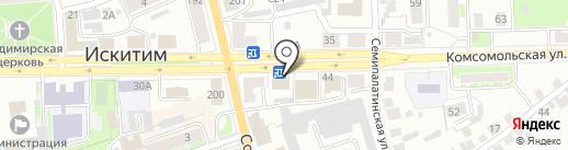 МарафетЪ на карте Искитима