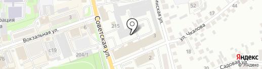 КФК на карте Искитима
