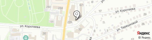Магазин автозапчастей на карте Искитима