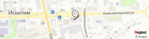 СибУПК на карте Искитима