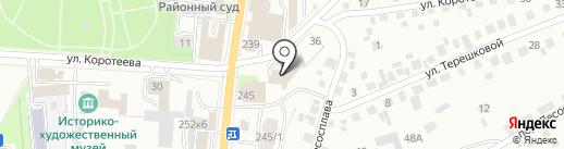 Алякова на карте Искитима