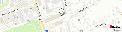 Компания по продаже окон и входных дверей на карте Искитима