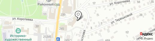 Магазин муки и сахара на карте Искитима