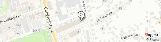СГА на карте Искитима
