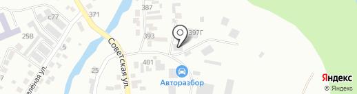 Автосклад запчастей на карте Искитима