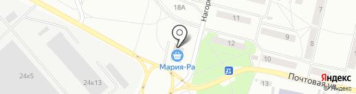 Мария-РА на карте Искитима