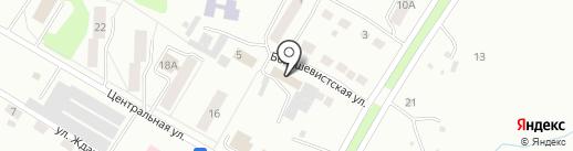 Ложок на карте Искитима