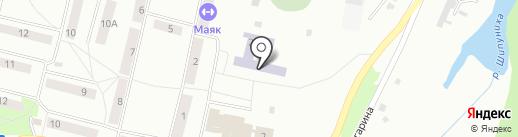 Средняя общеобразовательная школа №14 на карте Искитима