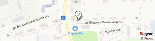 Солнышко на карте Черепаново