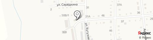 Саквояж на карте Черепаново