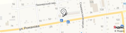 Магазин автозапчастей для иномарок на карте Черепаново
