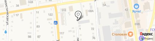 Автосервис на карте Черепаново