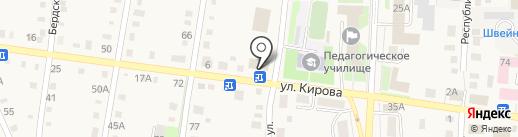 Сбербанк, ПАО на карте Черепаново