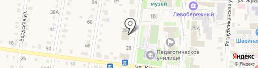 Дом бытовых услуг на карте Черепаново