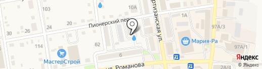 БИНБАНК, ПАО на карте Черепаново