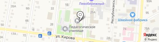 Центр Бюджетного Обеспечения, МКУ на карте Черепаново