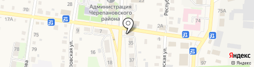 Мокко на карте Черепаново