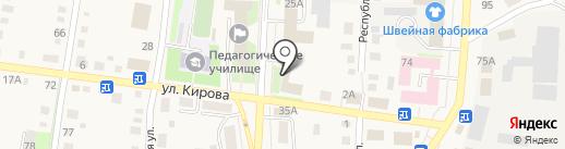 Расчетно-кассовый центр на карте Черепаново
