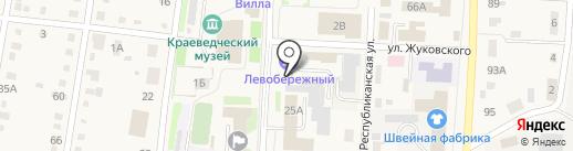 Кредитный союз 1, КПК на карте Черепаново
