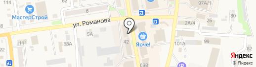 Табиб на карте Черепаново